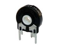 1K Trimmpotentiometer, PT15NH Trimmer Carbon 15mm Slotted Hole
